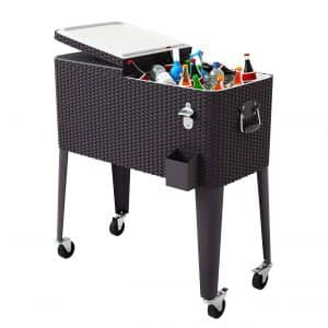 Giantex 80 Quart Cooler Cart