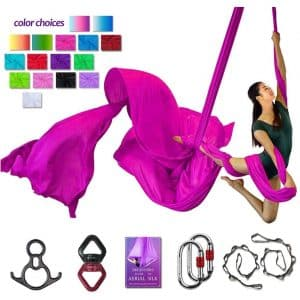 SYCYKA Aerial Silks Aerial Yoga Deluxe Equipment Set