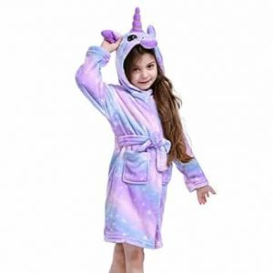 NewPlush Unisex Unicorn Bathrobes