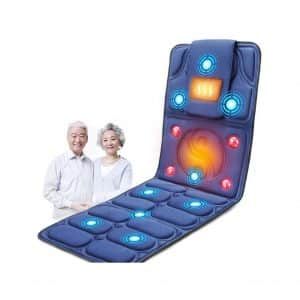 WuLien 9 Vibration Motors Massage Mat with Heat