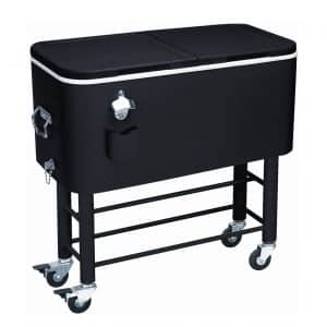 Rio Brands 77 Quarts Entertainer Cooler Cart