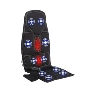 Sotion Car Seat Massager 10 Motor and Heat Therapy