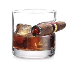 Godinger Cigar Whiskey Glass, Old Fashioned