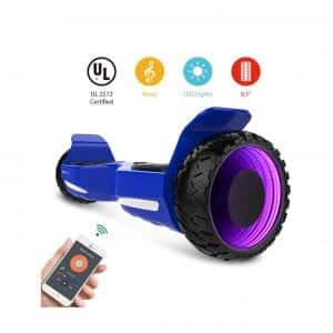 HYPER GOGO 6.5 Inches 3D Wormhole Self-Balancing Scooter