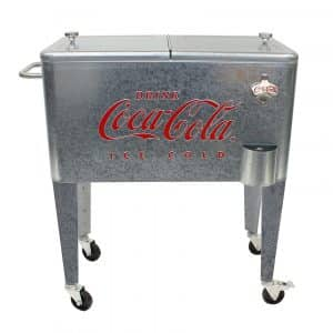 Leigh Country Coca-Cola Logo Cooler Carts