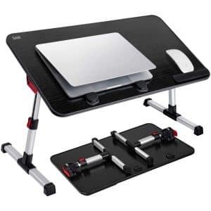 SAIJI Adjustable Laptop Bed Tray