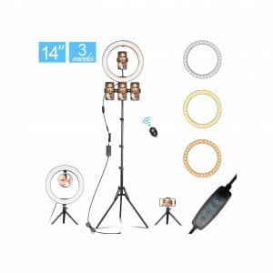 14.3″ LED Selfie Ring Light
