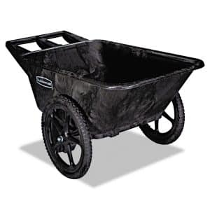 Rubbermaid Commercial Products 7.5 cu. feet 2- wheel Wheelbarrow