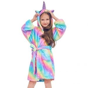 Beinou Unicorn Bathrobes