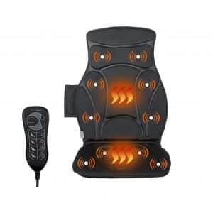 Giantex Car Seat 10 Vibration Motors Three Speed Levels Five Modes