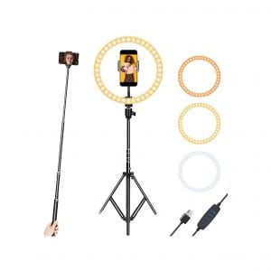 10 Inch Selfie Ring Light