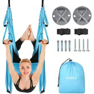 INTEY Flying Yoga Aerial Yoga Hammock Trapeze Swing Yoga