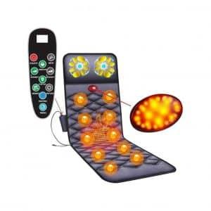 YLEI Massage Mat with 10 Vibrating Motors