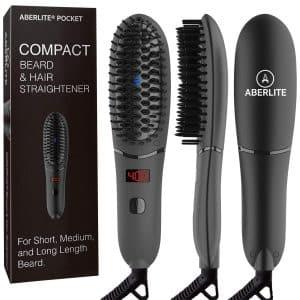 Aberlite Compact Pocket Beard Straightener