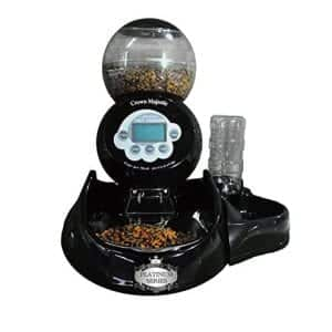 Crown Majestic Platinum Series Dog Feeder and Waterer