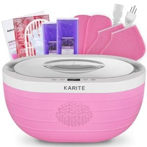 KARITE Paraffin Wax Machine for Hand and Feet, Fast Wax Meltdown Paraffin Bath, 3000ml Large Capacity Paraffin Wax Warmer