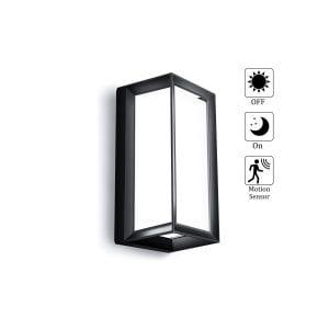 LIGHTEESS Modern Outdoor Wall Light with Motion Sensor