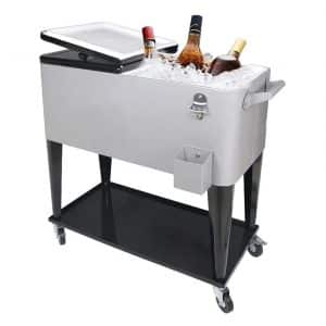 PetGirl 80Quart Cooler Carts