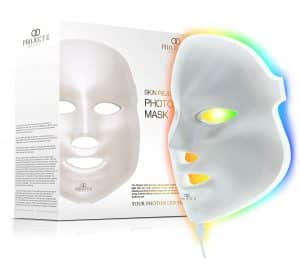 Project E Beauty LED Face Mask Light Therapy | 7 Color Skin Rejuvenation Therapy LED Photon Mask Light Facial Skin Care Anti Aging Skin Tightening