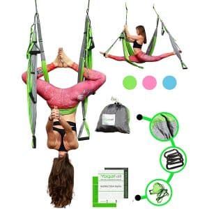 YOGATAIL Aerial Trapeze Exercise Equipment Yoga Swing