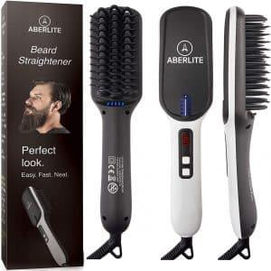 Aberlite MAX Upgraded Beard Straightener