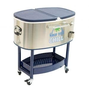 Margaritaville Outdoor 77 Quart Cooler Cart