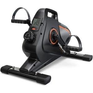 YOSUDA Under Desk Bike Pedal Exerciser - Magnetic Mini Exercise Bike for Arm Leg Exercise, Desk Pedal Bike for Home Office Workout