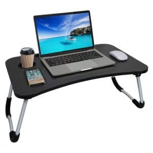 zhimei Foldable Laptop Bed Tray
