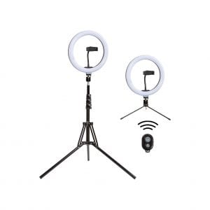 ALIMunate 10 Inch LED Selfie Ring Light