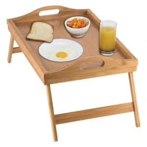 Home-it Bamboo Bed Tray