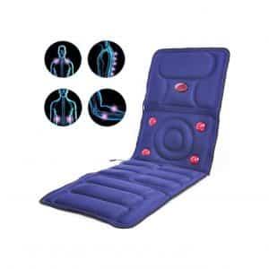 LANGYINH Massage Mat with 8 Vibration Motors Mattress Pad
