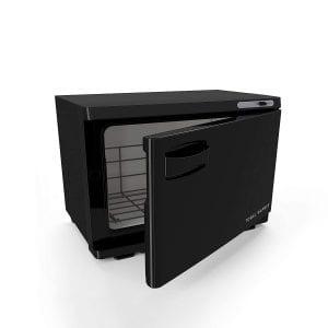 Ry Jaune Medium Black Professional Spa Hot Towel Cabinet