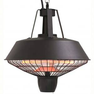 Westinghouse WES31-1520C Infrared Electric Outdoor Heater-Hanging, Black