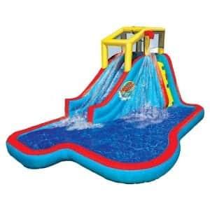 BANZAI Slide-N-Soak Splash Inflatable Water Slide