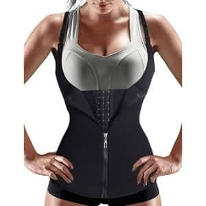 Nebility Body Shaper Waist Cincher with Adjustable Straps