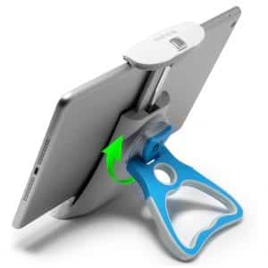 Aduro Tablet Stand Holder for iPad and All Tablets (Blue)