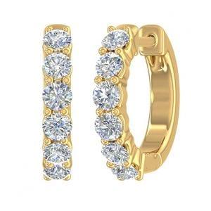 FINEROCK Diamond Earrings