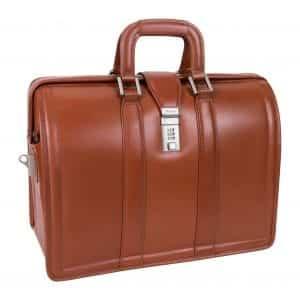 McKleinUSA Morgan 83344 Brown 17 Litigator Laptop Briefcase