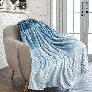 Pavilia All Season Flannel Fleece Super Soft Blanket