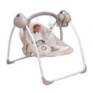 VASTFAFA Comfort Soothing Portable Baby Swing
