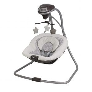 Graco Abbington Simple Sway 2 Speed Vibration Baby Swing