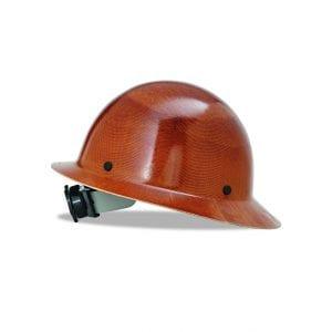 MSA Natural Tan Hard Hat, Fas-Trac Suspension