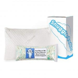 Snuggle Pedic Ultra-Luxury Bamboo Shredded Memory Foam Pillow