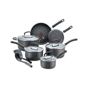 T-fal Dishwasher Safe 12 Piece Nonstick Cookware Set