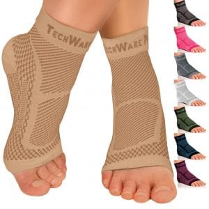Techware Pro Foot Support Ankle Compression Sleeve