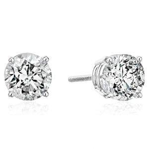 The Diamond Channel Diamond Earrings