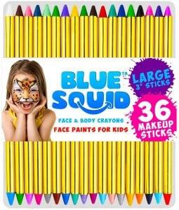 Blue Squid 1 Pack Body Paint Kit