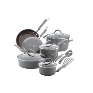 Rachael Ray12 Piece Nonstick Cookware Set
