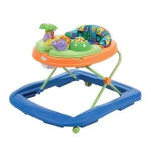 Safety 1st Lights 'n Dino Sounds Baby Walker, Activity Tray