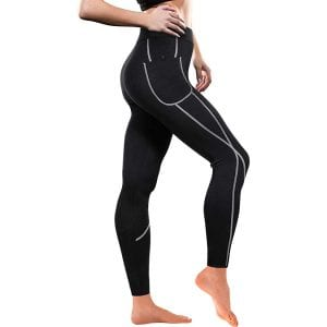 Traininggirl Women Weight Loss Neoprene Sauna Pants
